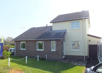 Thumbnail 2 bed semi-detached house for sale in Glenview Avenue, Pembroke Dock, Pembrokeshire