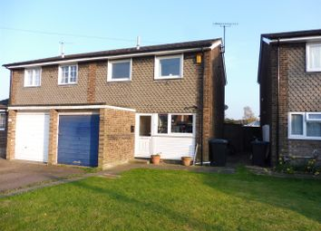 Thumbnail 3 bedroom semi-detached house for sale in Guntons Close, Soham, Ely