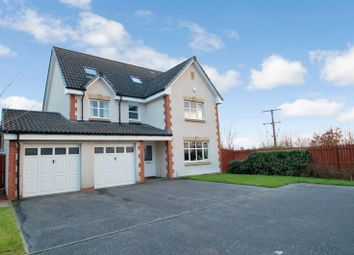 Thumbnail 6 bed detached house for sale in Glen Shee Court, Carluke