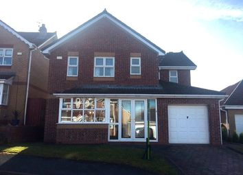 Thumbnail 4 bed detached house for sale in Troon Close, Shotley Bridge