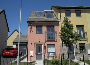 Thumbnail 4 bed end terrace house for sale in Limeburners Road, Plymouth