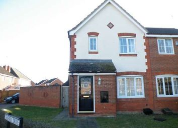 Thumbnail 3 bedroom semi-detached house to rent in Telford Drive, Yaxley, Peterborough