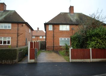 Thumbnail 3 bed semi-detached house for sale in Fircroft Avenue, Nottingham