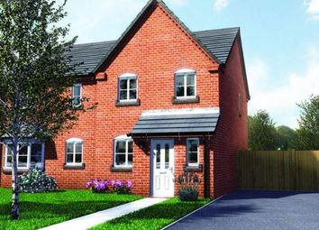 Thumbnail 3 bed end terrace house for sale in Plot 6, Old Hall Fields, Wellington, Telford