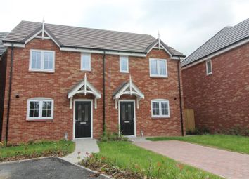 Thumbnail 3 bedroom semi-detached house for sale in 20 James Way, Baschurch, Shrewsbury