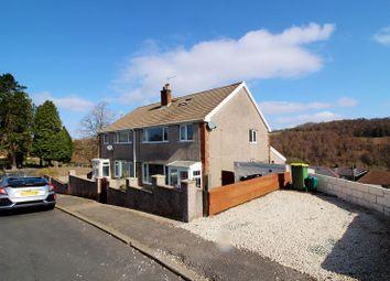 Thumbnail 3 bed semi-detached house for sale in Heol-Y-Plwyf, Ynysybwl, Pontypridd