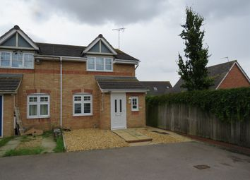 Thumbnail 2 bedroom semi-detached house for sale in Rochester Road, Corby