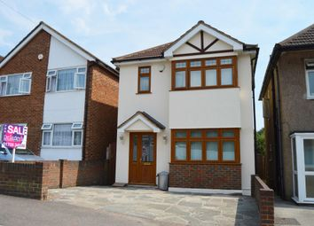 Thumbnail 3 bed detached house for sale in Church Road, Harold Wood, Romford