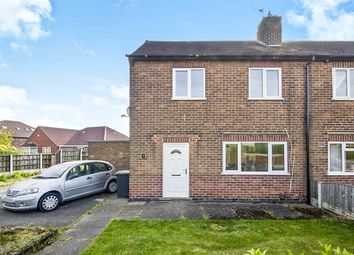Thumbnail 2 bed semi-detached house for sale in The Glebe, Cossall, Nottingham