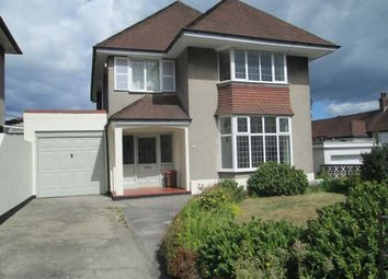 Thumbnail 4 bed detached house to rent in Parc Wern Road, Sketty, Swansea.