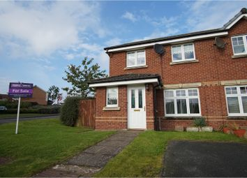 Thumbnail 3 bed end terrace house for sale in Malcolms Meadow, Kirkcaldy