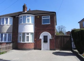 Thumbnail 3 bed semi-detached house for sale in Guilford Drive, Wigston, Leicestershire