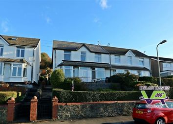 Thumbnail 4 bed semi-detached house for sale in Pencoed Avenue, Pontypridd, Rhondda Cynon Taff