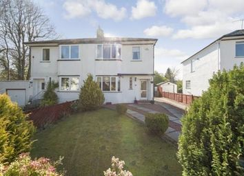Thumbnail 3 bed semi-detached house for sale in Robslee Road, Orchard Park, Glasgow