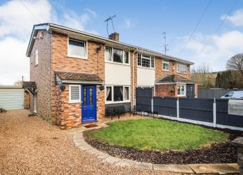 Thumbnail 3 bed semi-detached house for sale in School Lane, Coed Talon, Mold