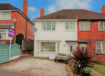 Thumbnail 3 bedroom semi-detached house for sale in Holmesfield Road, Great Barr, Birmingham