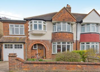 Thumbnail 4 bed semi-detached house for sale in Manor Crescent, Berrylands, Surbiton