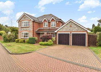 Thumbnail 4 bed detached house for sale in St. Benjamins Drive, Pratts Bottom, Orpington