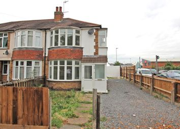 Thumbnail 3 bed semi-detached house for sale in Saffron Lane, Leicester