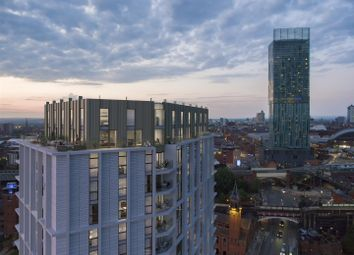 Thumbnail 3 bedroom flat for sale in Castle Wharf, Castlefield, Manchester