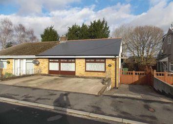 Thumbnail 2 bed semi-detached bungalow for sale in Westfield Road, Glyncoch, Pontypridd