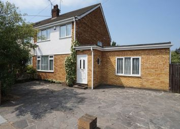 Thumbnail 4 bed semi-detached house for sale in Selbourne Road, Benfleet