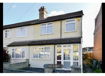 Thumbnail 3 bed end terrace house to rent in Woldham Road, Bromley
