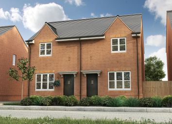 Thumbnail 2 bed semi-detached house for sale in Roman Road, Bobblestock, Hereford