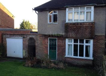 Thumbnail 5 bed semi-detached house to rent in Glen Iris Avenue, Canterbury, Kent
