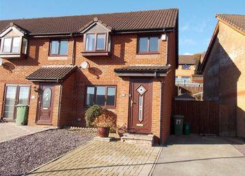 Thumbnail End terrace house to rent in Hafan Heulog, Coed-Y-Cwm, Pontypridd