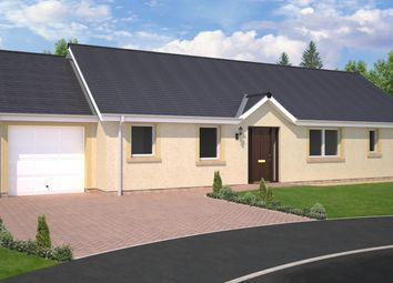 Thumbnail 4 bed bungalow for sale in Plot 9, The Fairbairn, East Broomlands, Kelso