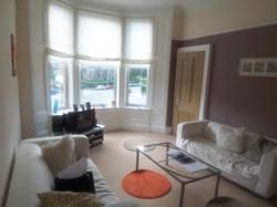 Thumbnail 2 bed flat to rent in Crow Road Flat 1/2 At 244, Glasgow
