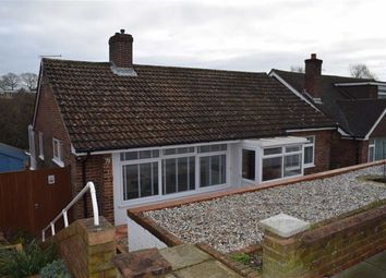Thumbnail 2 bed detached bungalow for sale in Ashford Road, Hastings, East Sussex