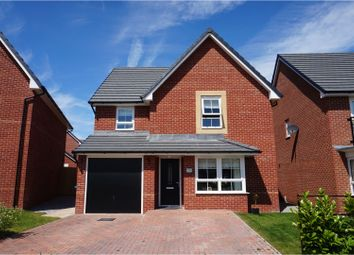Thumbnail 4 bed detached house for sale in Warbrook Road, Roby