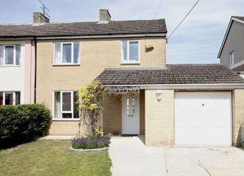 Thumbnail 3 bed semi-detached house for sale in Scotts Close, Heddington, Calne