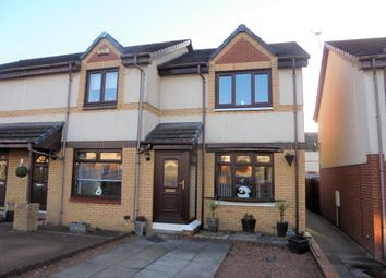 Thumbnail 2 bed end terrace house for sale in Raven Wynd, Wishaw