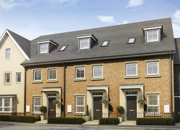 "Thumbnail 4 bedroom terraced house for sale in ""Helmsley"" at Knights Way, St. Ives, Huntingdon"