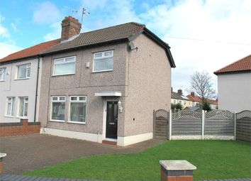 Thumbnail 3 bedroom semi-detached house for sale in Verney Crescent, Liverpool, Merseyside