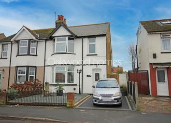 Thumbnail Semi-detached house for sale in Cross Road, Birchington