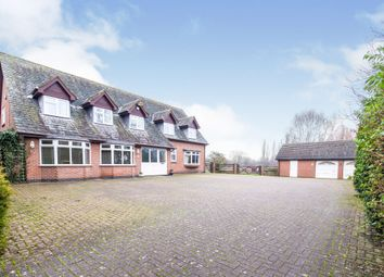 Thumbnail 5 bed detached house for sale in Sapcote Road, Burbage, Hinckley