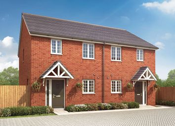 """Thumbnail 3 bed semi-detached house for sale in """"The Kibworth"""" at Loughborough Road, Rothley, Leicester"""