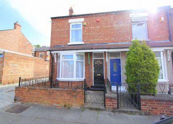 Thumbnail 2 bedroom end terrace house to rent in Hamsterley Street, Darlington