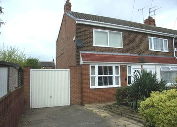 Thumbnail 3 bedroom end terrace house for sale in Wilbar Grove, Hull