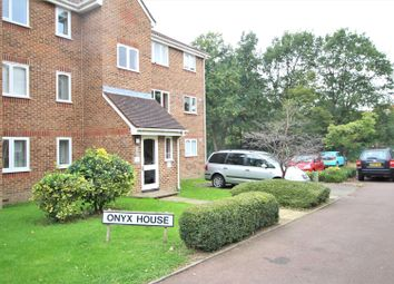 Thumbnail 1 bed flat for sale in Percy Gardens, Worcester Park