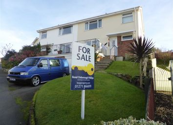 Thumbnail 3 bedroom property for sale in Fern Way, Ilfracombe