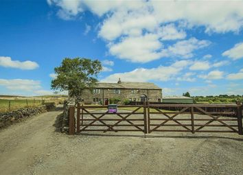 Thumbnail 4 bed farmhouse for sale in Tunstead, Stacksteads, Rossendale
