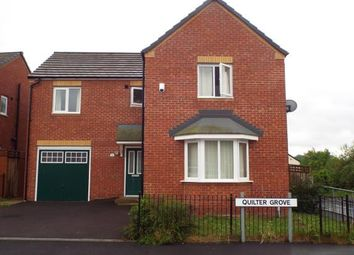 Thumbnail 4 bedroom detached house for sale in Quilter Grove, Manchester, Greater Manchester