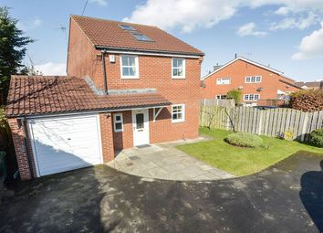 Thumbnail 4 bed detached house to rent in Strensall Road, Strensall, York