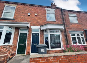 Thumbnail 3 bed terraced house for sale in Dover Street, Creswell, Worksop
