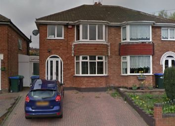 Thumbnail 3 bed semi-detached house for sale in Gorse Farm Road, Great Barr, Birmingham.